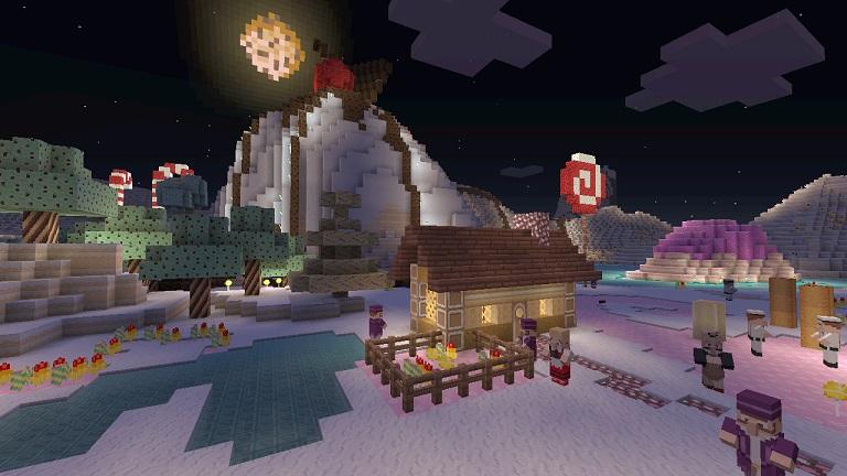 Minecraft - Minecraft - Disponibile il Candy Texture Pack per la versione Xbox 360 - Multiplayer.it