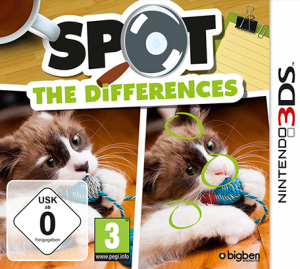 Spot The Differences per Nintendo 3DS