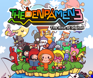 The Denpa Men 3: The Rise of Digitoll per Nintendo 3DS