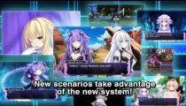 Hyperdimension Neptunia Re;Birth 1 - Primo trailer in inglese