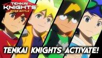 Tenkai Knights: Brave Battle - Il trailer del Japan Expo 2014