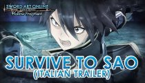 "Sword Art Online: Hollow Fragment - Trailer ""Survive to SAO"" Japan Expo 2014"