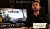 "Valiant Hearts: The Great War - Videodiario ""Behind the sound and music"""