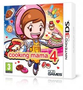 Cooking Mama 4 per Nintendo 3DS
