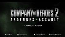 Company of Heroes 2: Ardennes Assault - Video di presentazione GamesCom 2014