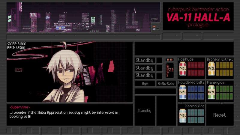 VA-11 HALL-A: il simulatore di barista piacione in salsa cyberpunk arriva anche su PlayStation 4 e Switch