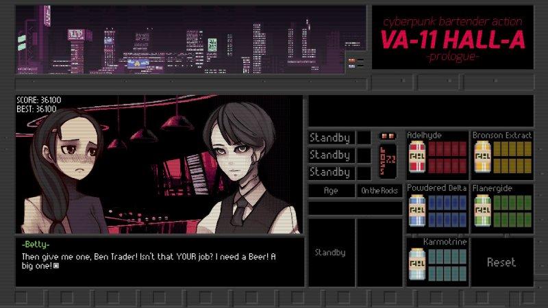 VA-11 HALL-A, la recensione per Nintendo Switch