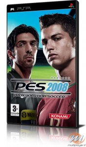 Pro Evolution Soccer 2008 per PlayStation Portable