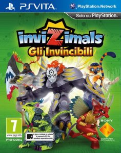 Invizimals: Gli Invincibili per PlayStation Vita