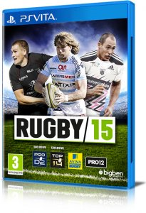 Rugby 15 per PlayStation Vita