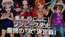 One Piece Super Grand Battle! X - Trailer del gameplay con i personaggi femminili
