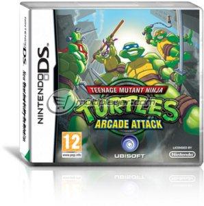 Teenage Mutant Ninja Turtles: Arcade Attack per Nintendo DS