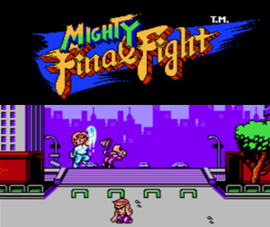 Mighty Final Fight per Nintendo Wii U