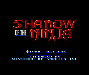 Shadow of the Ninja per Nintendo Wii U