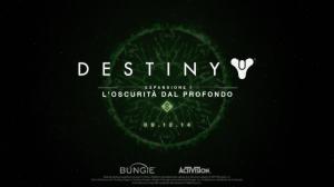Destiny: L'Oscurità dal Profondo per PlayStation 4