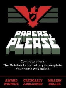 Papers, Please per iPad