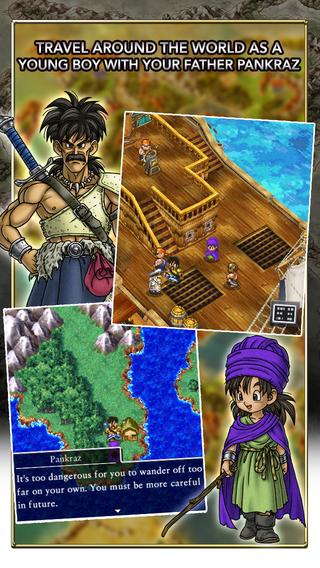 Dragon Quest V: Hand of the Heavenly Bride è disponibile per sistemi mobile