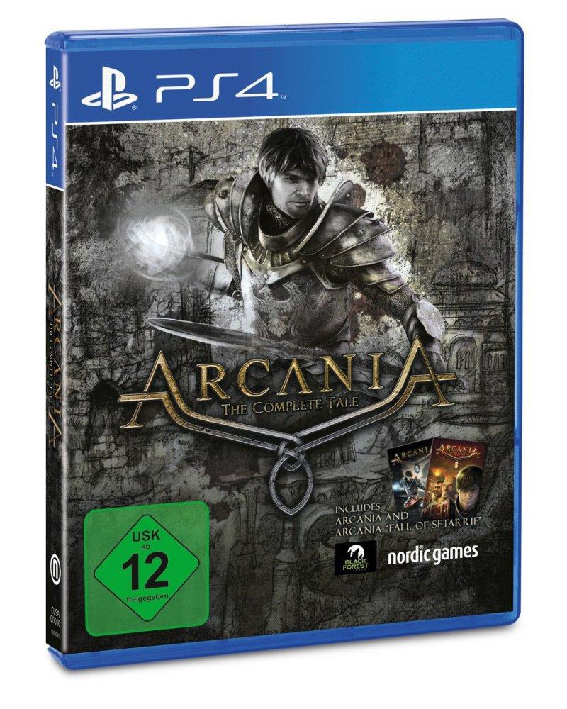 Arcania: The Complete Tale compare nel listino di un retailer tedesco
