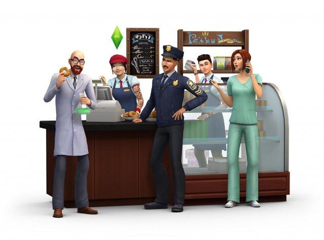 The Sims 4: Al Lavoro!
