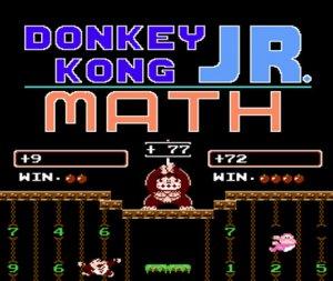Donkey Kong JR. Math per Nintendo Wii U
