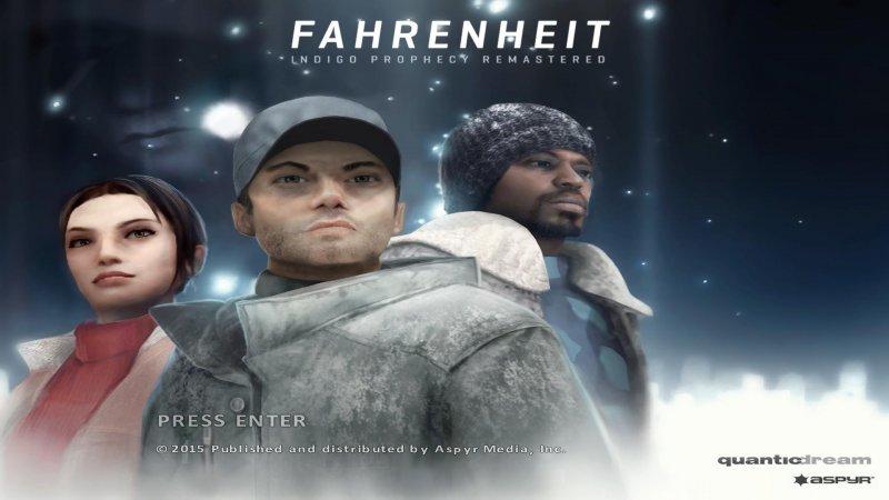 L'edizione Remastered di Fahrenheit: Indigo Prophecy arriva il mese prossimo su PlayStation 4