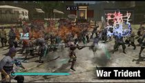 Dynasty Warriors 8: Empires - Il gameplay del war trident