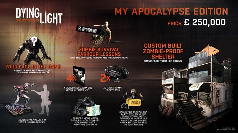 L'edizione My Apocalypse di Dying Light è un record: comprende anche una vera casa anti-zombie
