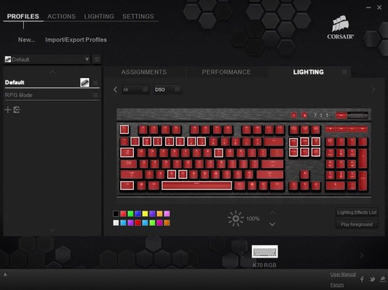 Corsair gaming k70 rgb recensione hardware pc