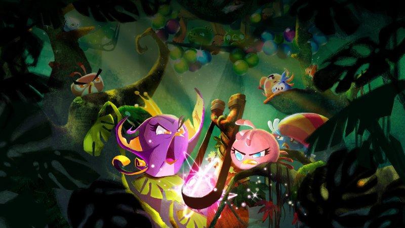 Crollano gli introiti per il franchise di Angry Birds, -73% in un anno