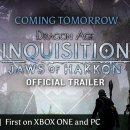 Domani uscirà il trailer di annuncio di Dragon Age: Inquisition - Jaws of Hakkon