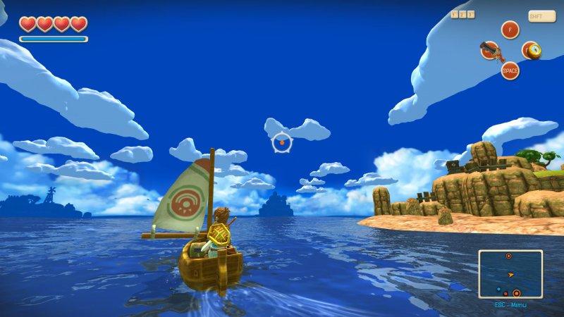 Oceanhorn: Monster of Uncharted Seas arriva su PlayStation Vita