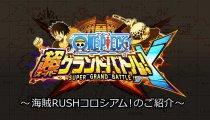 One Piece: Super Grand Battle! X - Trailer della modalità Colosseo