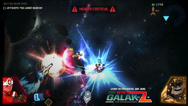 La versione mobile di Galak-Z sarà giocabile al PAX East 2016