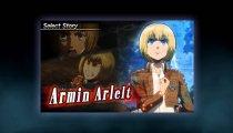 Humanity in Chains: Attack on Titan - Trailer dei personaggi