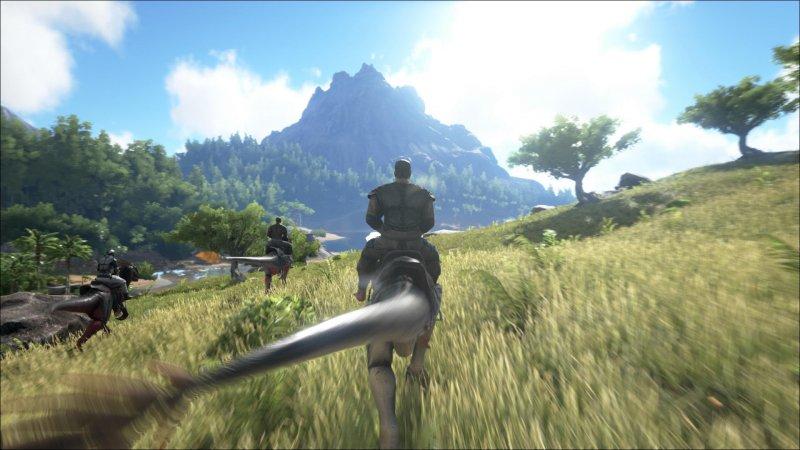 Ark: Survival Evolved arriva la settimana prossima su PlayStation 4, con l'espansione Scorched Earth