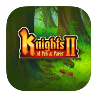 Knights of Pen and Paper II per iPad