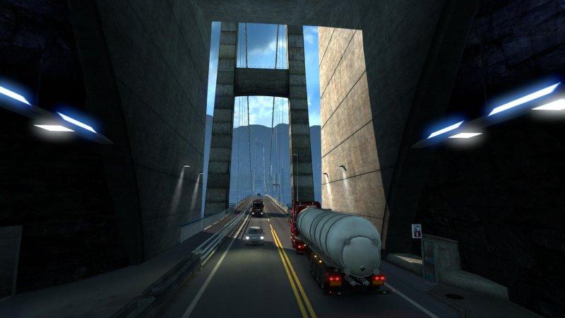 La guida di Euro Truck Simulator 2 - Scandinavia