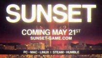 Sunset - Il trailer di lancio