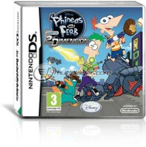 Phineas and Ferb nella Seconda Dimensione per Nintendo DS