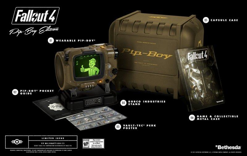 E3 2015 - Uno sguardo alla Pip-Boy Edition di Fallout 4