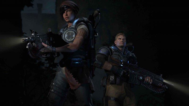 Gears of War 4, scopriamo tutto su JD Fenix, Kait Diaz e Delmont Walker