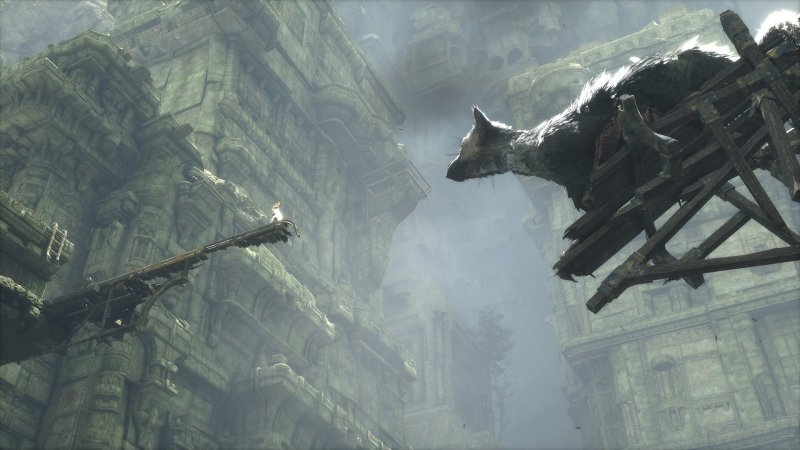 La demo 2009 di The Last Guardian su PlayStation 3 aveva diversi problemi tecnici