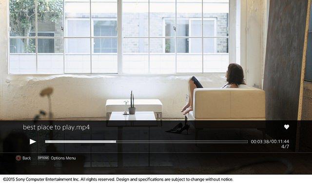 Il Media Player PlayStation 4 si aggiorna alla versione 2.00