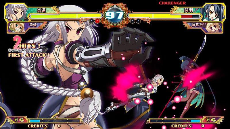 Il picchiaduro 2D Koihime Enbu arriva anche su PC