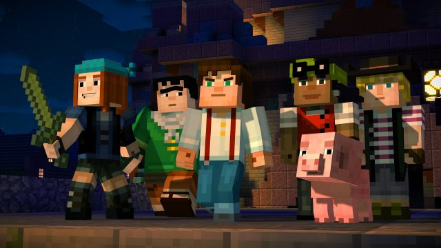 Minecraft: Story Mode - Episode 1: The Order of Stone