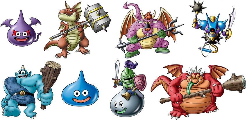 Risultati immagini per dragon quest monster