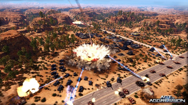 Parte oggi la beta di Act of Aggression: Reboot Edition