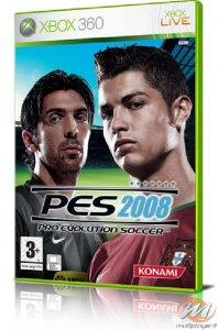 Pro Evolution Soccer 2008 per Xbox 360
