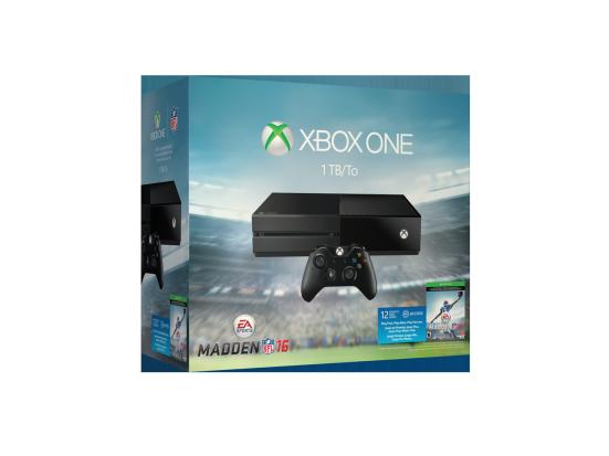 Un nuovo bundle con Xbox One da 1 TB dedicato a Madden NFL 16