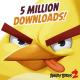Cinque milioni di download in un giorno e mezzo per Angry Birds 2